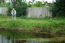 Everglade canal fishing